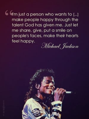 Quote by Michael Jackson Motivational song video: Michael Jackson ...