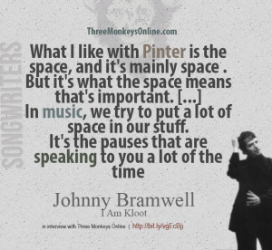 Johnny Bramwell on Harold Pinter