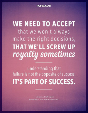 Quotes, Inspiring Quotes, Success And Failure Quotes, Mistake Quote ...