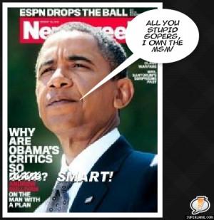 Obama Stupid Obama's critics so dumb?