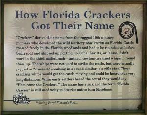 florida crackers...