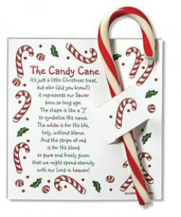 Replace Your Flowers With Candy Canes