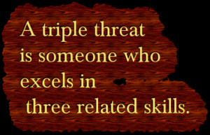 what is a triple threat margaret minnicks what is a triple threat ...