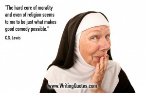 Quotes About Writing » CS Lewis Quotes - Morality Religion - Funny ...