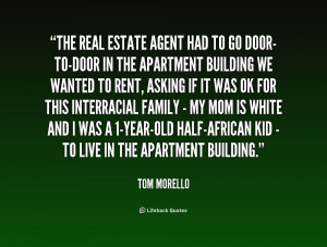 quote Tom Morello the real estate agent had to go 237385 png