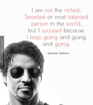 am not the richest, smartest or most talented person in the world ...