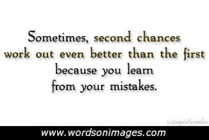 Second Chance at Love Quotes