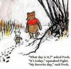 ... little thought for others makes all the difference winnie the pooh