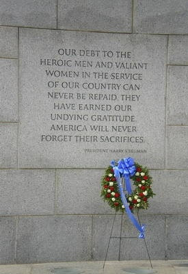 National World War II Memorial President Harry S. Truman Quote