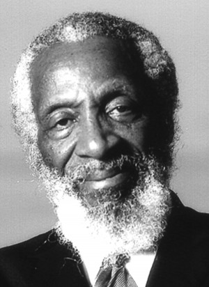 click to enlarge dick gregory comedian and civil rights activist