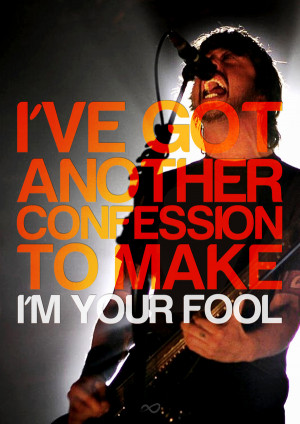 Foo Fighters   Best of You ….. I freakin' love this song.