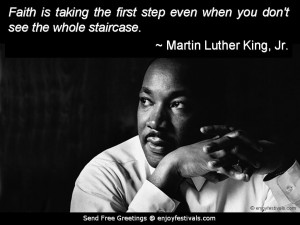 Martin Luther King Jr. on Faith