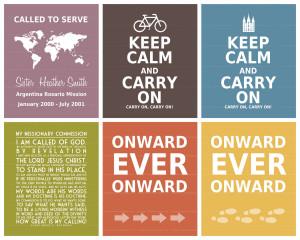 LDS Missionary Art