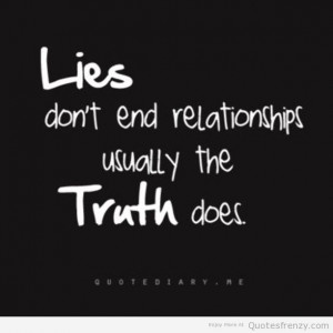 When You Know The Truth Quotes. QuotesGram