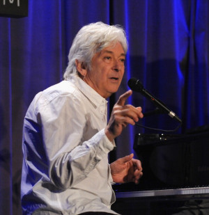 Ian McLagan at the Grammy Museum in Los Angeles, May 6. (Getty Images)