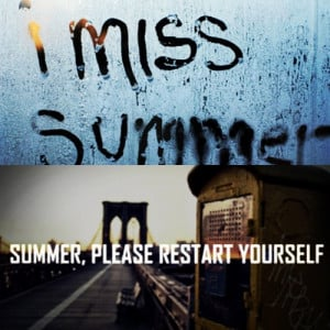Missing Summer Quotes