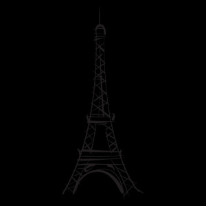 Eiffel Tower Wall Quotes™ Decal
