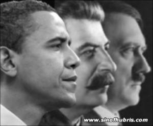 Hitler and Stalin were pretty good buds until Hitler's head got as big ...