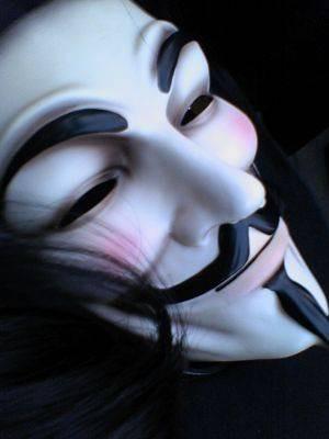 面具男头像黑白 欧美面具男头像黑白 《小小忍者2 ...