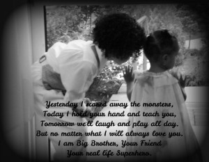 Love My Big Brother Quotes From Little Sister Big brother little ...