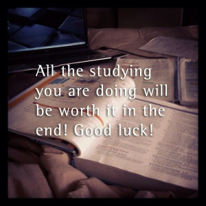 Study hard! RSmith