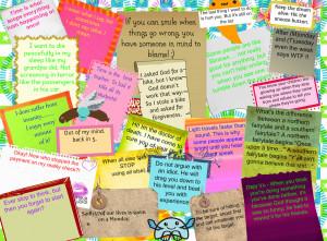 Random weird sayings!