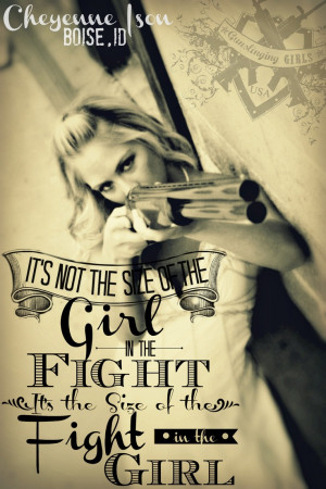 ... girls with guns self defense double barrel gunslinger gunslining girl