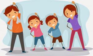 Family Fitness Clipart Clip Art Family Fitness Clip