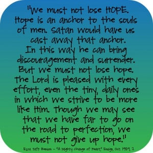 Hope - anchor