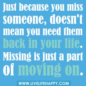 Cute Quotes About Missing Someone