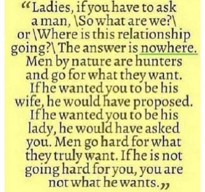 Ladies take note!
