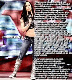 AJ Lee pipebomb #WWE More