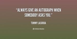 Tommy Lasorda Quotes