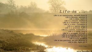 Finest Life Poem for Inspiration