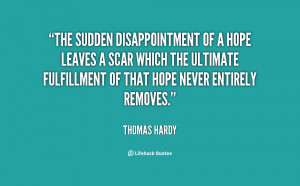 Disappointment Quotes