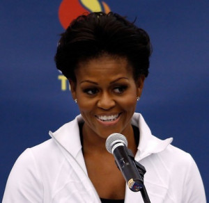 ... First Lady Michelle Obama , Guinness World Record , kids , michelle