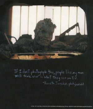 Burned Iraqi soldier in first Gulf War (disturbing image warning)