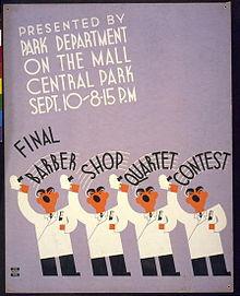 WPA poster, 1936