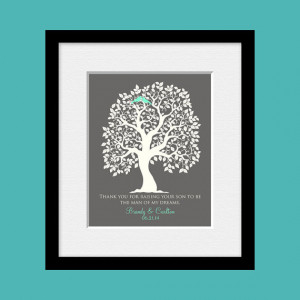 ... Groom's Mom, Man of My Dreams Quote, Thank you Gift for Mother of the