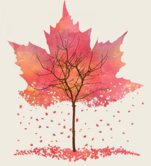 Fall Art Print by Dan Hess / Society6 on we heart it / visual bookmark ...