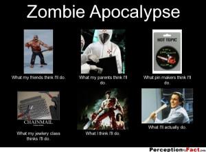 Zombie Apocalypse Quotes Zombie apocalypse .