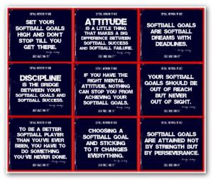 Motivational Softball...