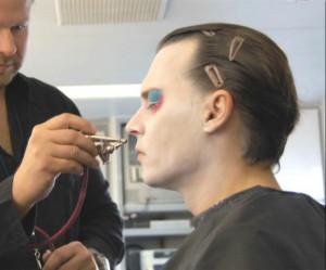 Mad Hatter (Johnny Depp) Mad Hatter's Make Up