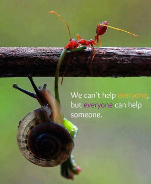 Be Kind..Be Helpful..Make a difference..because you can