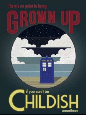 Doctor Who Art -- Okay it's not exactly a Vintage Travel Poster but ...