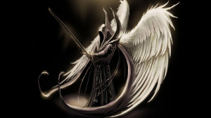 Angel of death wallpaper