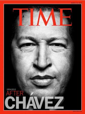 La muerte del presidente Chávez definitivamente acapara titulares de ...