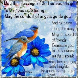 May God Blessings Surround Us