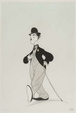 Charlie Chaplin - Al Hirschfeld