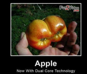 Dual core funny fruit which is very hilarious and this funny meme ...